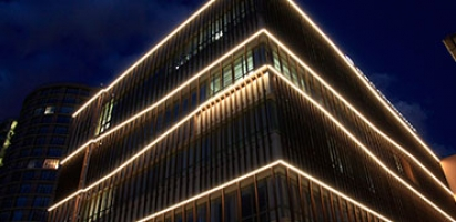 Архитектурное освещение (поворотная лира)