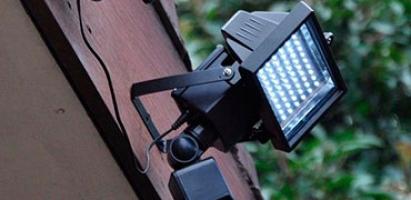 Прожектора со вторичной оптикой (поворотная лира)